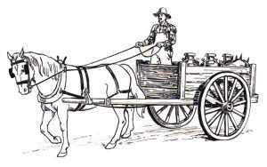 pferde mit kutsche 7 ausmalen