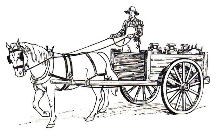 Ausmalbilder Pferde Mit Kutsche 7 | Ausmalbilder Pferde