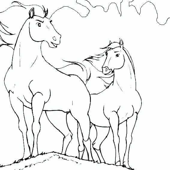 Ausmalbilder Pferden Familien 4 Ausmalbilder Pferde