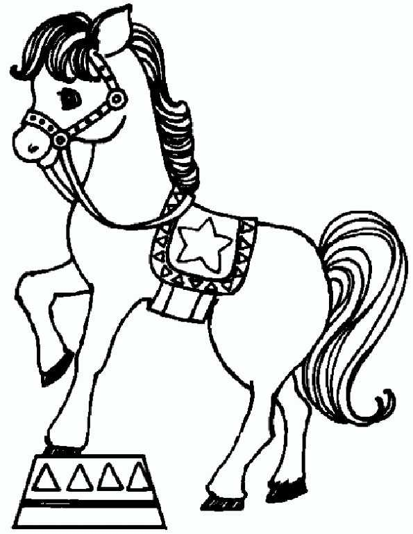 ausmalbilder pferde 60