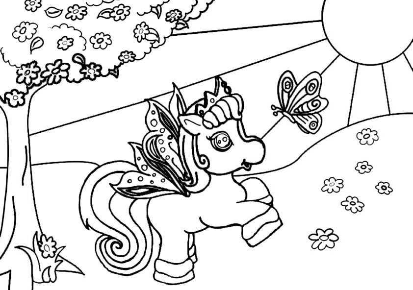 Ausmalbilder Filly 8 Ausmalbilder Pferde