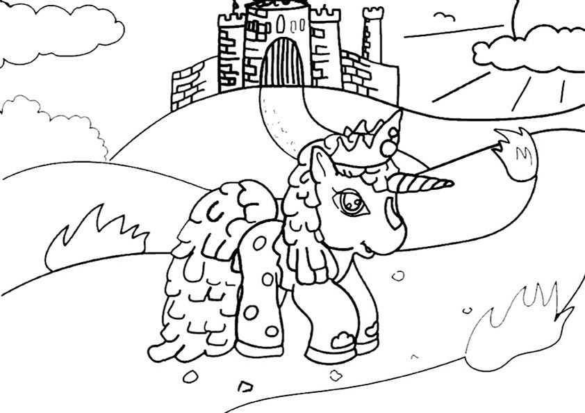 Ausmalbilder Filly 13 Ausmalbilder Pferde