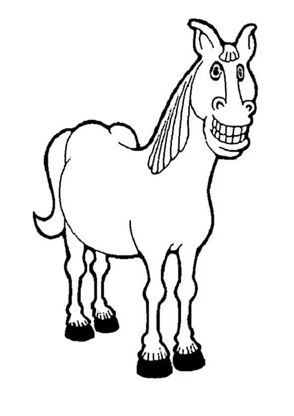 ausmalbilder pferde (18)